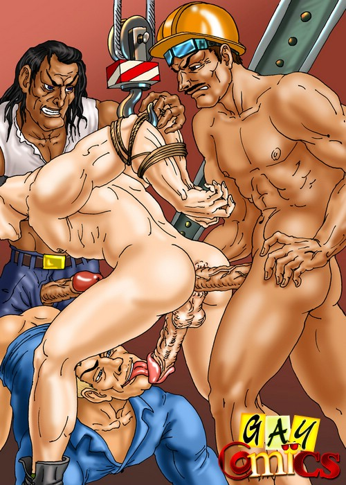 Порно Комиксы Про Мультики Геи